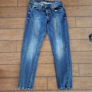 Lucky sienna slim boyfriend jeans size 4/27